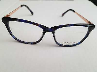 bee4516607f9 Ted Baker TB9125 SKY Designer Spectacle Frame Glasses with Case BLUE MARBLE