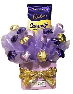 BRAND NEW Caramilk Bouquet Hamper Limited Edition Edible Gift Chocolate Hamper