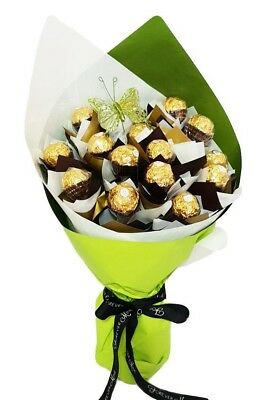 BRAND NEW Envious Bouquet Hamper Edible Gift Chocolate Arrangement