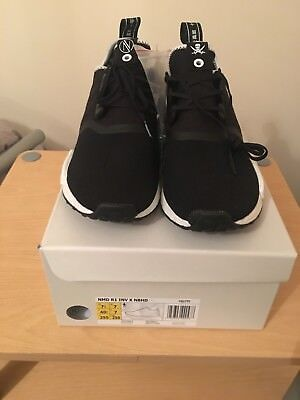 the best attitude a0b6a eb6c6 ADIDAS CONSORTIUM X Neighborhood x Invincible NMD R1 Boost / UK Size 7  Trainer