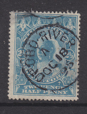 Niger Coast 21/2d Sg 54 with Opobo River1895 cancel on piece