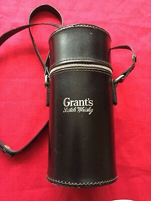 Rare Vintage Grants Whisky  Three Bottle Decanters