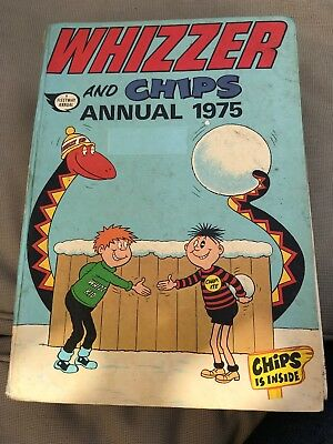 Whizzer And Chips Annual 1975 / Good Condition