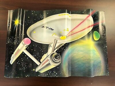 Warehouse Find-Morris Sales Star Trek 1975 Send Away Poster-Very Rare Lot Of 50