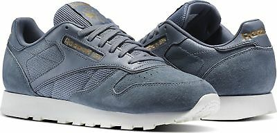 Reebok Classic Leather ALR Mens Running Training Shoes Asteroid Dust/Grey BS5242