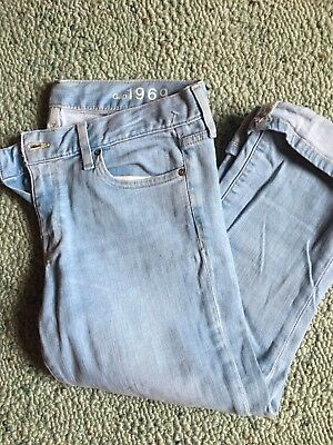 Gap Cropped Boot Jeans  Size 10