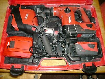 Hilti Cordless Rotary Hammer Drill Model Te4A18 With Dsr System Look