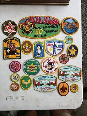 Boy Scout Patch Lot of 20 #1