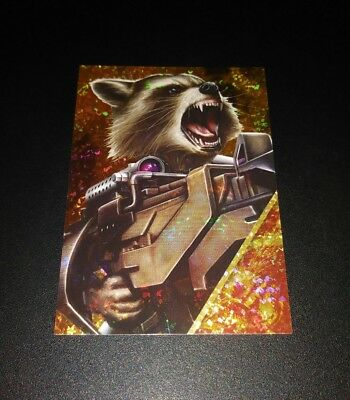 Rocket Refractor #150 Card Karte Panini 2017 Marvel Guardians Of The Galaxy