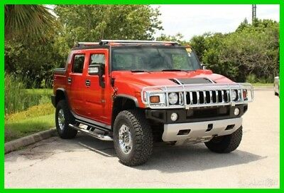 Hummer H2 luxury Preferred Equipment, Entertainment System, Rearview Camera 2008 Hummer H2 SUT 6.2L V8 16V Automatic 4WD SUV Bose Premium