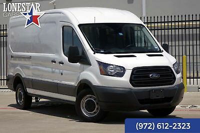 Ford T250 Medium Roof Cargo Van Warranty 2016 White Cargo Van Warranty!