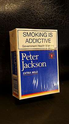 Peter Jackson cigarettes full packs of 30 - Collectable very rare!