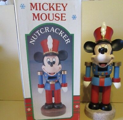 "Kurt Adler Disney MICKEY MOUSE SOLDIER NUTCRACKER w/ Box 13"" NEW"