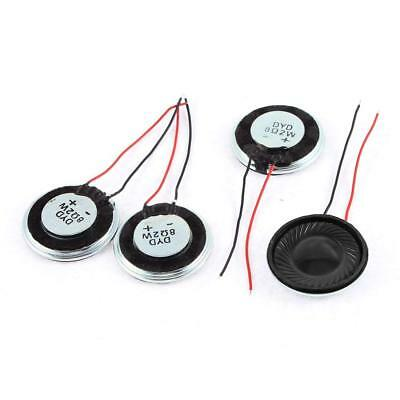 Uxcell a15080600ux0275 Metal Shell Round Internal Magnet Speaker 2W 8 Ohm