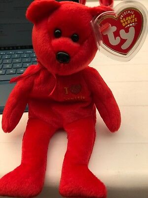 TY Beanie Baby - SEATTLE the Bear (I love Seattle - Show Exclusive) (8.5 inch)
