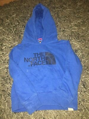 The North Face Boys Xs ( Age 5-6 ) Royal Blue Hoody Hooded Jumper