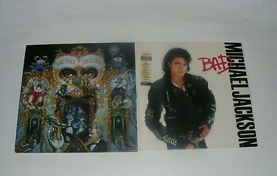 Michael Jackson Dangerous vinyl Doppel LP + Bad