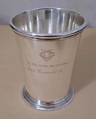 Vintage Tiffany & Co Sterling Silver Mint Julep Cup~UC University Club NY~194g