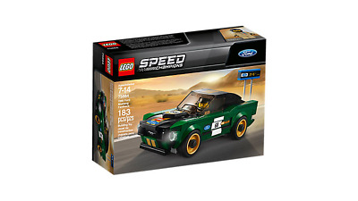 LEGO Speed Champions #75884 1968 Ford Mustang Fastback NEW SEALED RETIRED L@@K!