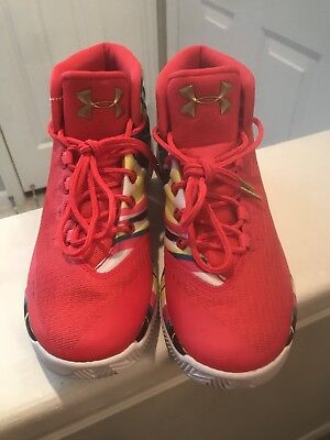 ab21a16b7134 2017 UNDER ARMOUR UA Steph Curry 3 SZ 9.5 Chinese New Year CNY ...