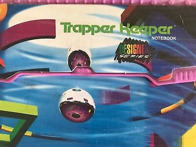 "Vintage 90's Trapper Keeper Mead Binder ""Designer Series"" Abstract geometric"