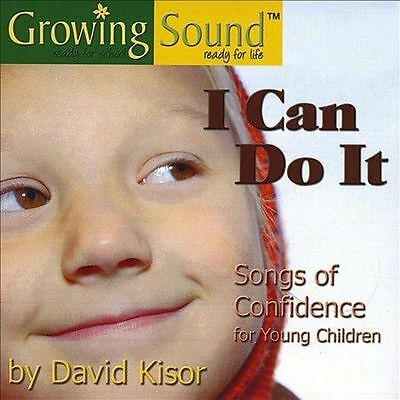 I Can Do It by David Kisor (BRAND NW CD) Songs of Confidence for young Children