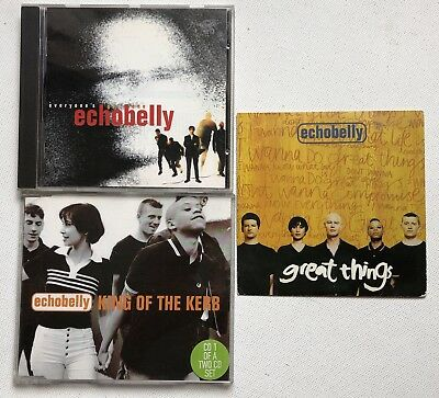 Echobelly - Everyone'S Got One Cd Album + King Of The Kerb Cd Single