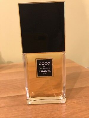 COCO CHANEL 100ML EDT spray,used once