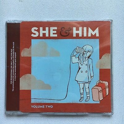 She & Him - Volume 2 Promo Cd Album