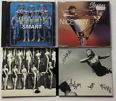 Sleeper - Smart Cd Album + Nice Guy Eddie Cd Single