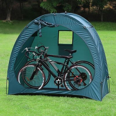 Garden Backyard Bike Storage Tent Camping Travel Bicycle Shed Cave Space Saver