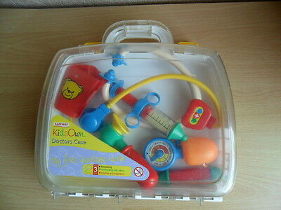 Kids Own Doctors Case In Plastic ~ Used
