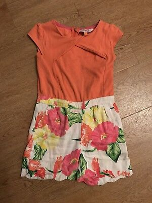Cute Ted Baker Girls Playsuit Age 3-4 Years