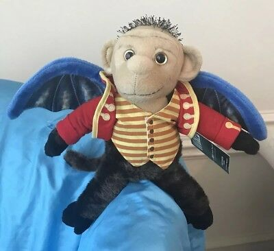New Wicked Flying Monkey Chistery Broadway Musical Plush Stuffed