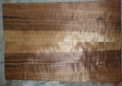 "Aspen fumed wood veneer 1/42"" 12""x33"""