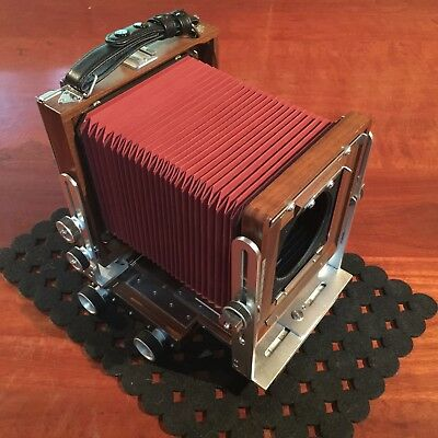 "Shen Hao XPO 4x5"" Camera - First one made!"