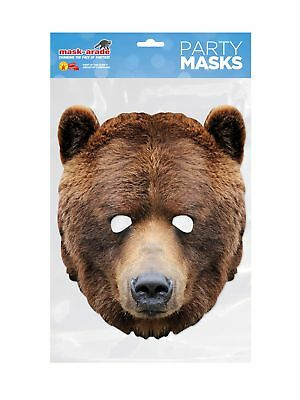 Bear Facemask � Costume Accessory