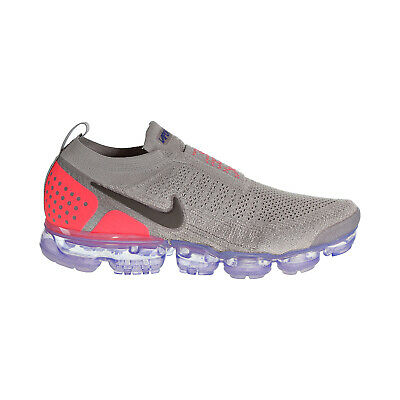 Nike Air Vapormax Flyknit MOC 2 Men's Shoes Moon Particle-Solar Red AH7006-201