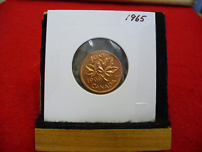 1980 CANADA 1 CENT PROOF-LIKE PENNY COIN