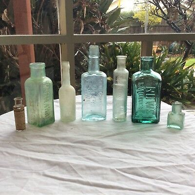 Medicine And Various Embossed Bottles