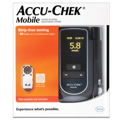 Accu Chek Mobile Blood Glucose Meter GREAT PRICE FREE POSTAGE