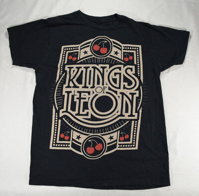 Kings of Leon T-Shirt Size Large Black