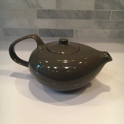 Russel Wright Teapot Oneida Mid Century Design Charcoal Grey Russell Vintage