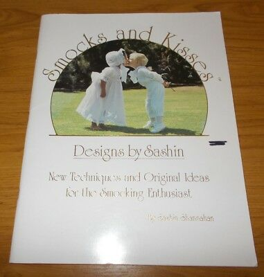 Smocking Book~Smocks & Kisses~Sashin Shannahan~Snow White & Birthday Dress~Bonne