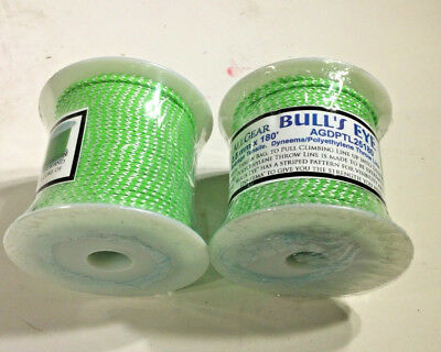 Arborist Weaver Throw Line Bull's Eye AGDPTL25180  2.5mm X 180 feet  2 PER BOX