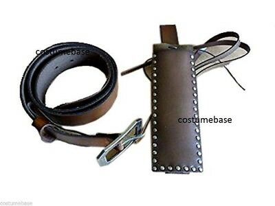 SWEENEY TODD LEATHER BELT Holster Halloween Costume NEW
