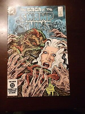 The Saga Of The Swamp Thing # 30 November 1984 Nm Near Mint 9.4