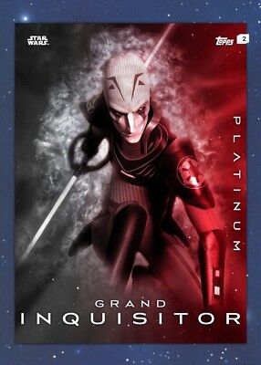 Grand Inquisitor-Platinum Series 2 Wave 7-Topps Star Wars Card Trader