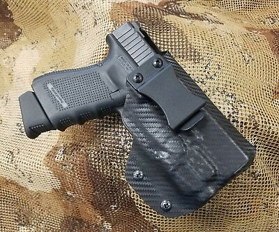 FITS GLOCK 43 with streamlight TLR6-Paddle OWB Holster Kydex