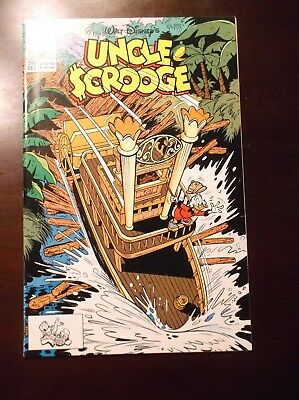 Uncle Scrooge # 249 Disney Nm- Near Mint- 9.2 December 1990